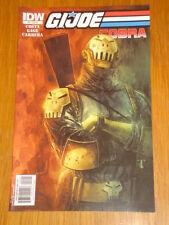 G.I. JOE COBRA #8 RI COVER 2010 IDW BEN TEMPLESMITH