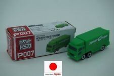 Japan import TOMICA P007 MITSUBISHI FUSO SUPER GREAT toy car truck lorry green