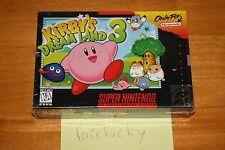Kirby's Dream Land 3 (Super Nintendo SNES) NEW SEALED V-SEAM NEAR-MINT, RARE!