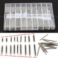 360pcs Stainless Steel Watch Band Spring Bars Strap Link Pins 8-25mm Repair Kit!