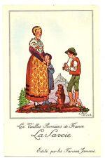CPA 73 Savoie Fantaisie Publicité Farine Jammet