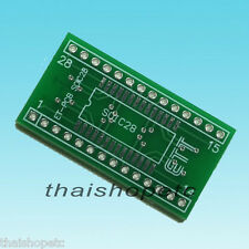 SOIC-28 SOIC28 to DIP-28 DIP28 Adapter PCB SMD convert