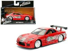 DOM'S MAZDA RX-7 RED FAST & FURIOUS MOVIE 1/32 DIECAST MODEL CAR BY JADA 98377