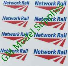00 1:76 Waterslide Transfers Code 3 Network Rail Logos