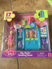 Polly Pocket Hip Stylin' Dressing Room NEW in Box Lea