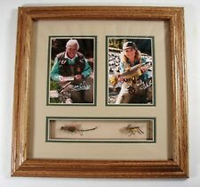 Dave & Emily Whitlock Framed Signed Photos with Original Flies **Price Reduction