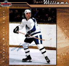 Tiger Williams Toronto Maple Leafs Autographed 8 x 10 Photo - 70507