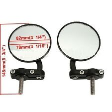 "Motorcycle Black Handlebar End Mirror Bar 7/8"" Honda CBR CB 600 1000 RR Custom"