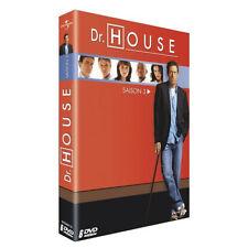 4990 // DOCTEUR DR HOUSE  SAISON 3 COFFRET 6 DVD NEUF SOUS BLISTER