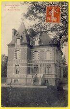 cpa 61 Environs de L'AIGLE VILLA de SAINT MARTIN d'ÉCUBLEI (Orne) Chalet Château