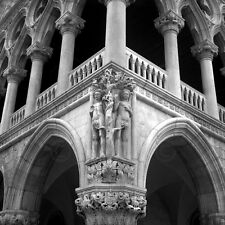 VENICE ITALY ART PRINT - Adam & Eve by Tom Artin 12x12 Italian Photo Poster