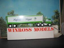 WINROSS 1/64 YOPLAIT YOGURT TRACTOR AND TRAILER *