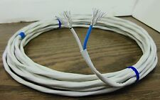 10 feet 12 AWG Twisted Pair Silver Plated Cable speaker wire 37 strands USA