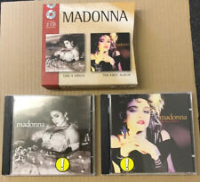Madonna - Like A Virgin The First Album 2 x Cd Box Set Ultra Rare French Import