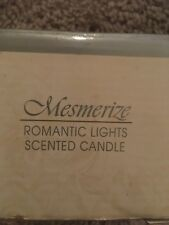 Vintage Avon Mesmerize Romantic Lights Scented Candle
