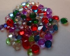 200 X 2-4mm Bulk lot of Crystal Birthstone Charms for Floating Locket or craft
