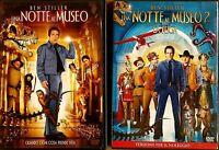 UNA NOTTE AL MUSEO + UNA NOTTE AL MUSEO 2 - LA FUGA DVD EX NOLEGGIO - FOX