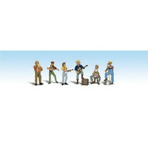 Woodland Scenics A2743 O Scenic Accents Jug Band Figures (Pack of 8)