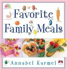 Favorite Family Meals-Very Good-Free Shipping-Annabel Karmel