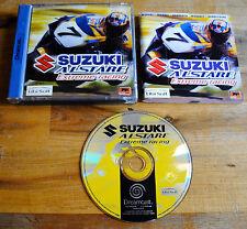 Jeu SUZUKI ALSTARE sur SEGA DREAMCAST (CD remis à neuf) PAL VF