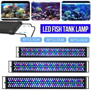 60 90cm Aquarium Light Lighting Full Spectrum Aqua Plant Fish Tank Bar LED Lamp