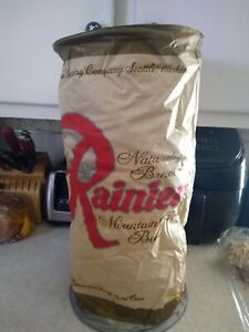 Vintage Rainier Beer Can Blow-Up Inflatable Store Display Rare Brew