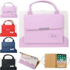 "For iPad Mini Air Pro 7.9"" 9.7"" 10.2"" 10.5"" 11"" 12.9"" Leather Handbag Case Cover"