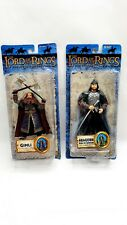 Lord of the Rings King Aragorn and Gimli Coronation action Figures,toybiz
