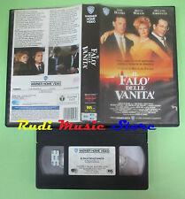 VHS film IL FALO' DELLE VANITA' Tom Hanks Bruce Willis Griffith WB(F76) no dvd