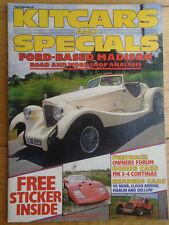 Kitcars & Specials Sep 1984 Nova V8, TPC Speedster