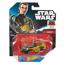 Mattel Hot Wheels Star Wars 1:64 Scale Diecast KANAN JARRUS Character Car (DTB15