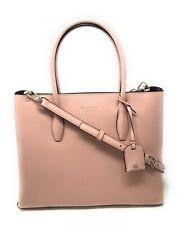 Kate Spade Medium Top Zip Satchel Eva Leather Tote Bag Rosy Cheeks WKRU6113 $399