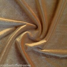 Stretch Velvet Fabric Champagne Fabric Velvet Fabric By The Yard Sewing Fabric