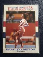 MARY LOU RETTON~Gold Medalist  1991 Impel U.S. Olympic HOF Card #27