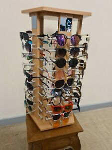 Sunglasses Stand - Holds A2019 sunglasses  - Retail Shop Display Storage Unit