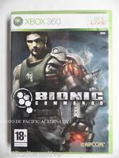 jeu BIONIC COMMANDO pour xbox 360 game francais action spiel juego spil X360
