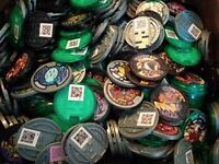 YOKAI WATCH - COINS Pieces JAPAN Import for Arcade - Collection - LOT OF 20