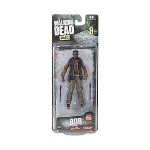 McFarlane Toys The Walking Dead TV Series 8 Bob Stookey Action Figure, New