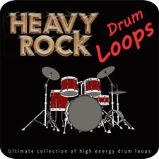 Heavy Rock Drum Loops - Wav Sample Cd/Modern powerful hard rock&metal drums.