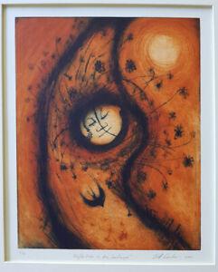 Jeff GARDNER Reflections in the Landscape original signed print art