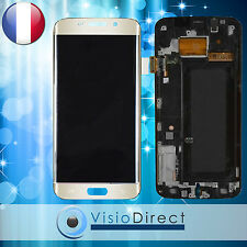 Ecran complet pour Samsung Galaxy S6 Edge G925F or vitre tactile + LCD + châssis