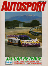 Autosport 17 Mar 1988 - Jarama 360 Kms Jaguar, Thundersports, Thruxton F3, March