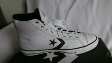 BRAND NEW in box Converse White Leather Star Player Hi trainer UK 9 EU 42.5