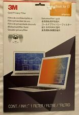 """3M Gold Privacy Filter 13"""" Monitor Computer Laptop Apple MacBook Air GFNAP002"""