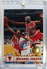 1993 93 Hoops 5th Anniversary GOLD Michael Jordan #28, Rare Parallel