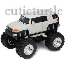 "Welly 4.75"" Monster Truck Big Foot Toyota FJ Cruiser Diecast Car 47003-8D White"