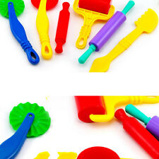 6PCS/set Polymer Clay Intelligent Plasticine Playdough Mould Tools Mold Kids