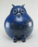XL Meike Falck Nicolaisen Studiokeramik Eule Figur Garten german studio pottery