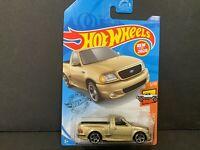 Hot Wheels Ford F150 SVT Lightning 99 Champaign Gold 237/250 1/64 2020 P