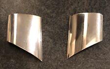 Georg Jensen Clip Earrings 378 Denmark Sterling Silver Regitze Overgaard